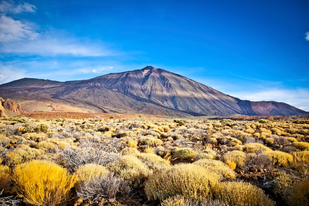 vulcão de Tenerife