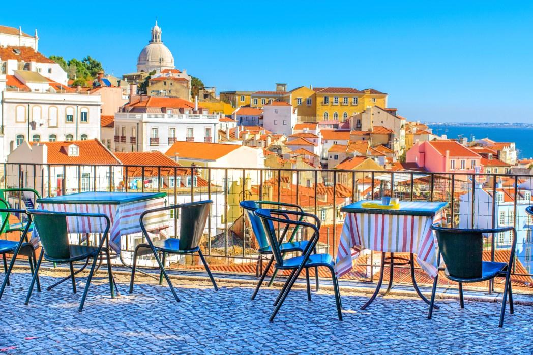 esplanada de Lisboa